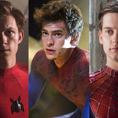 Tobey Maguire y Andrew Garfield en Spider-Man 3