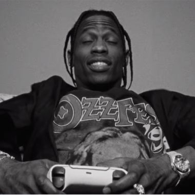 Travis Scott PS5 comercial