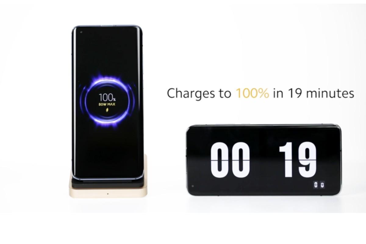 Xiaomi carga inalámbrica 80W