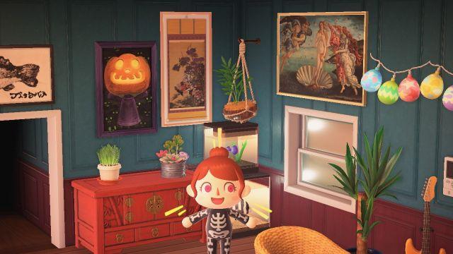 Animal Crossing: obras de arte falsas están embrujadas y mueven los ojos