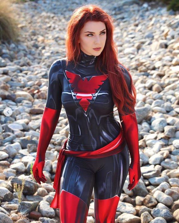 cosplay phoenix jean grey 2