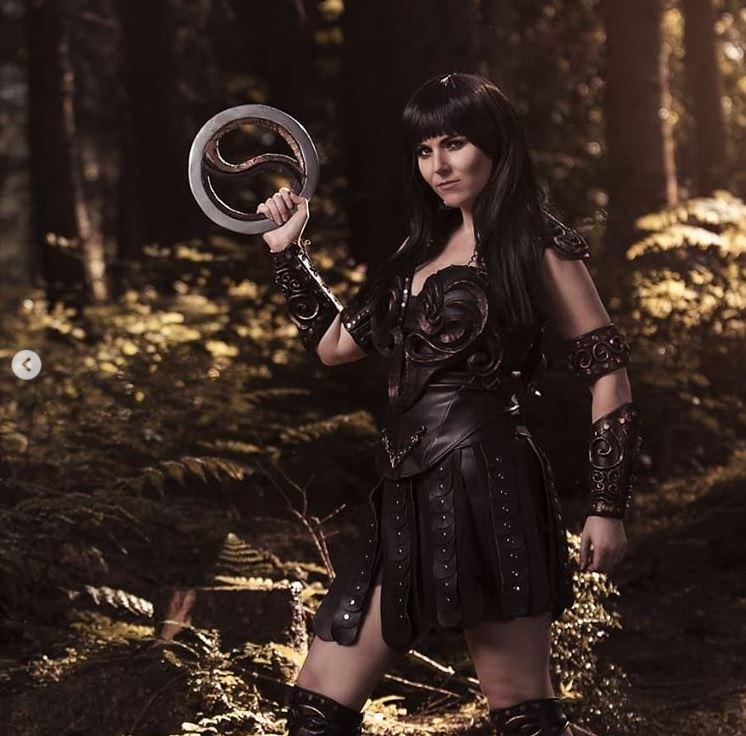 cosplay xena la princesa guerrera 2