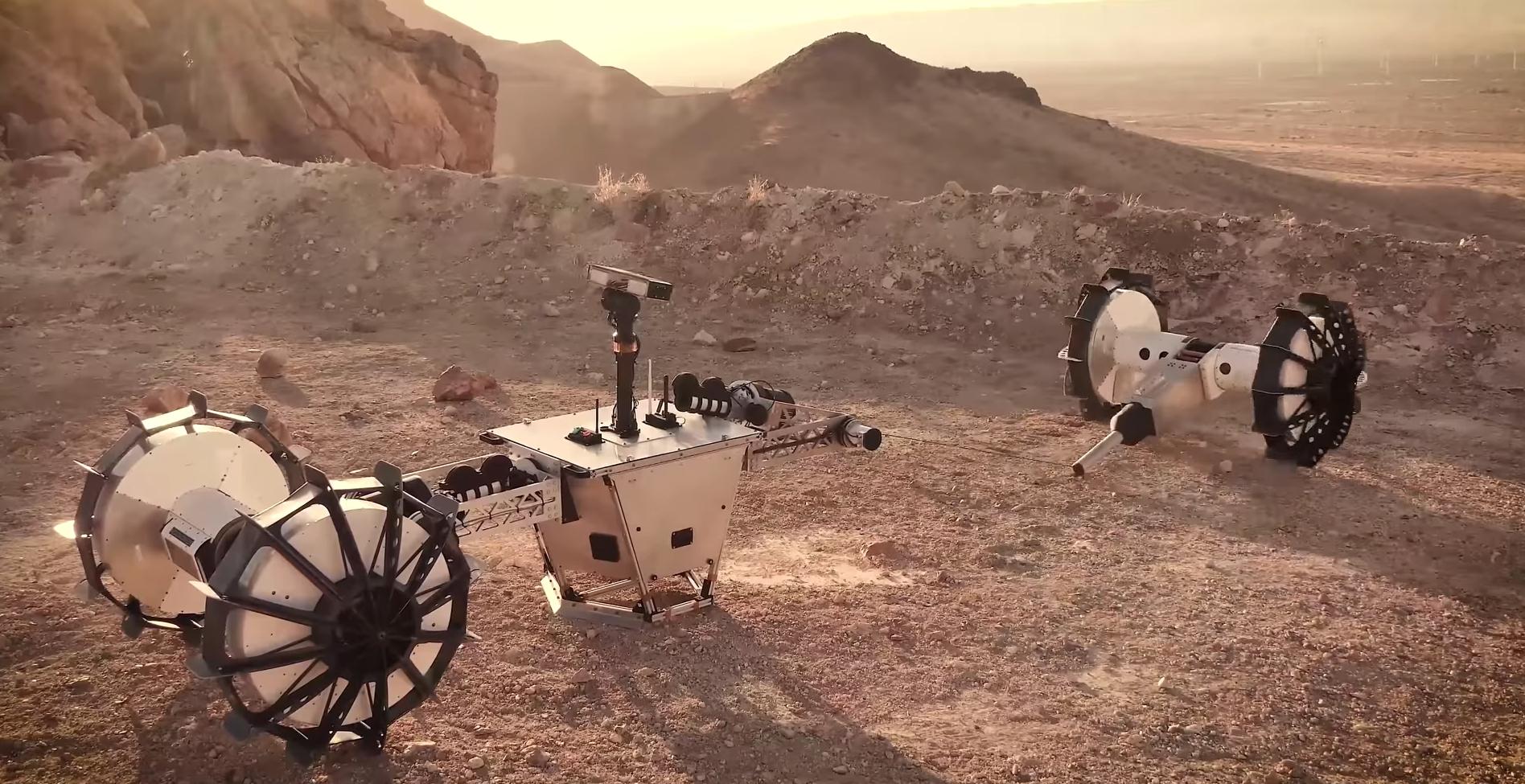 El rover de la NASA que se divide en dos para explorar Marte