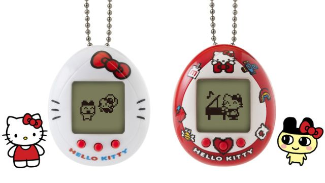 Tamagotchi de Hello Kitty te ayuda a cuidar de tu mascota virtual