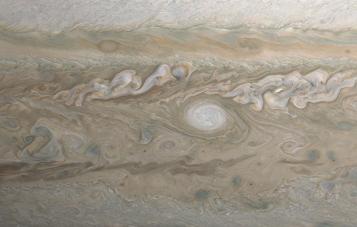 Ciencia.-VÍDEO Acompaña a la nave Juno en un sobrevuelo de Júpiter
