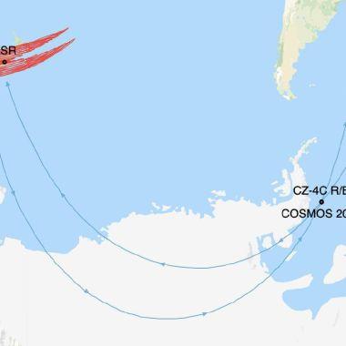 Satélite ruso podría chocar con un cohete chino, alertan expertos