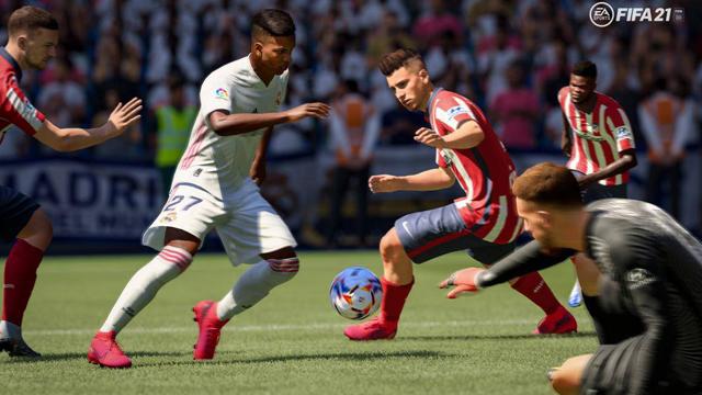 FIFA 21 no presenta cambios significativos y da la sensación que EA se guardó la revolución para la siguente generación