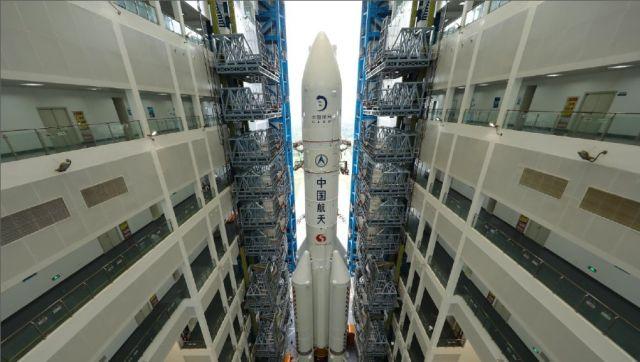 China lanzará el Chang'e 5 a la Luna