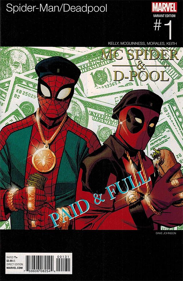 Deadpool Spider Mann comics