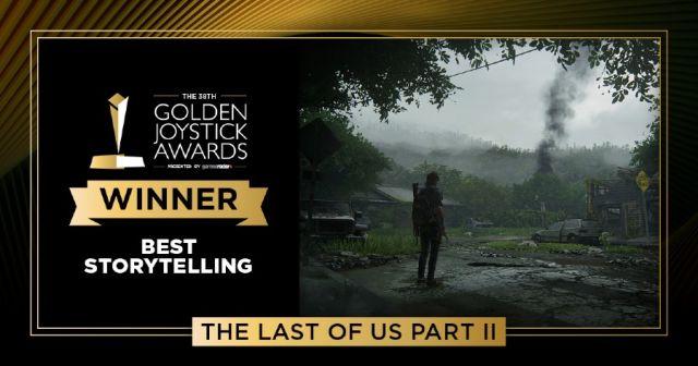 Lista de ganadores de los Golden Joystick Awards 2020