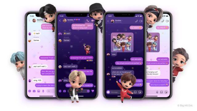 Nuevas funciones de Messenger e Instagram