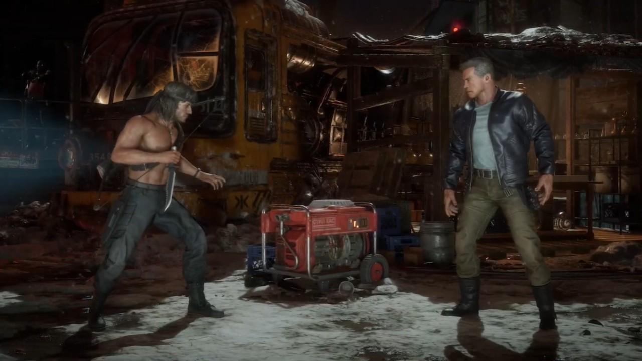 Rambo y Terminator se enfrentan