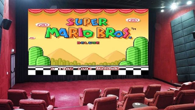 Sal de Cine Super Mario World