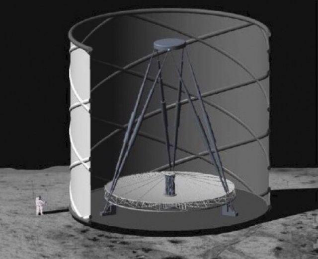 Astrónomos proponen construir telescopio en la Luna