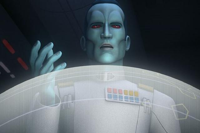 El Gran Almirante Thrawn en Star Wars Rebels