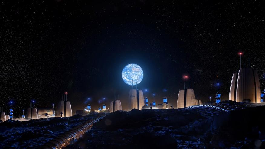 Asentamiento humano en la Luna