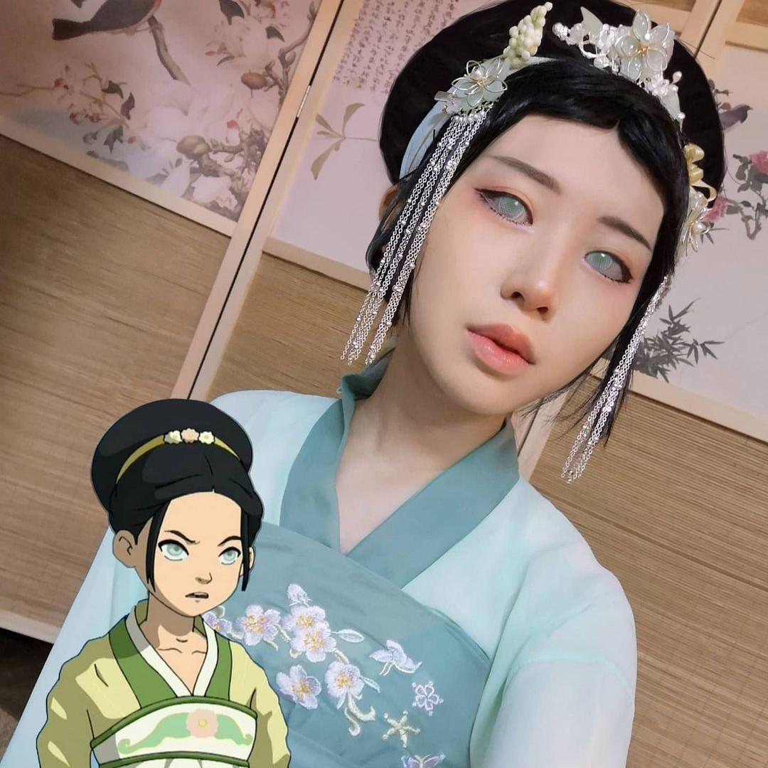 Avatar: Chica recrea en cosplay a la ruda Toph con uno de sus mejores estilos