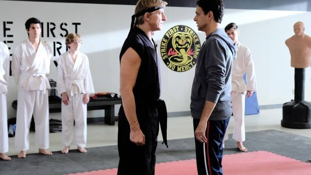 Daniel y Johnny en Cobra Kai