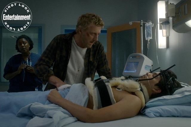Miguel en el hospital Cobra Kai 3