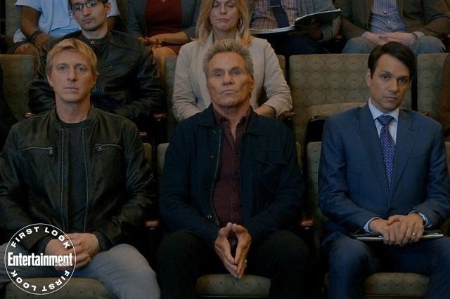Johnny, Kreese y Daniel en Cobra Kai 3