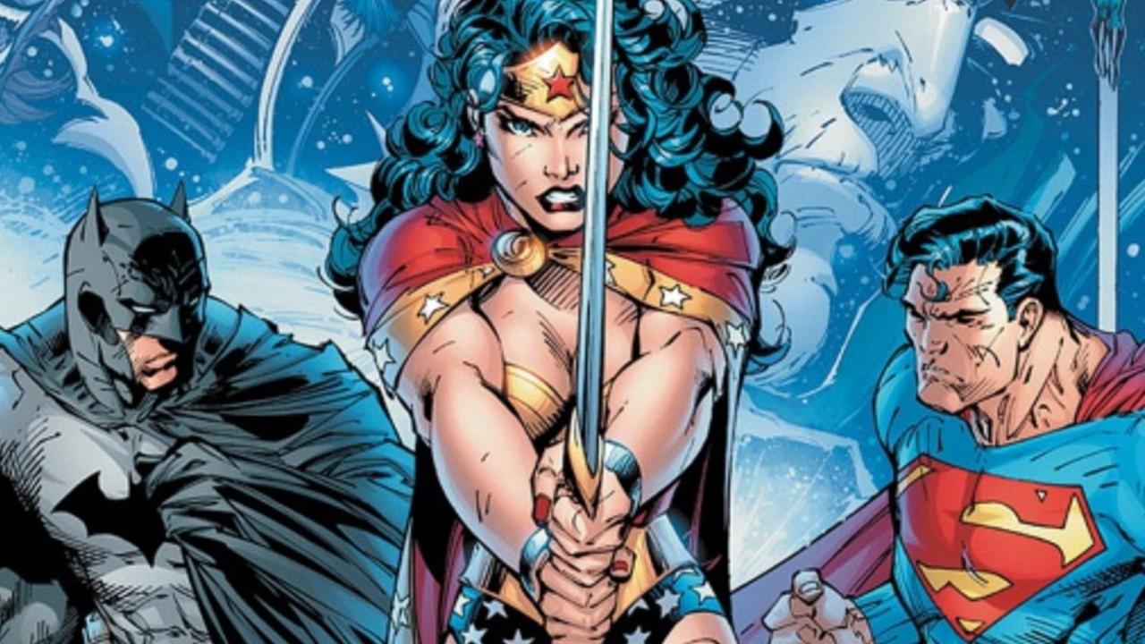 Fan art crea una divertida situación entre Wonder Woman, Batman y Superman (1)