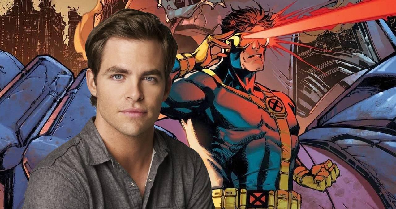 Chris Pine es Cyclops
