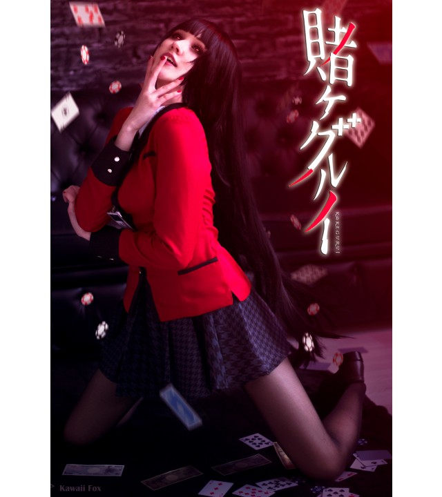 Kakegurui: Cosplayer recrea perfectamente a Yumeko Jabami con un asombroso traje