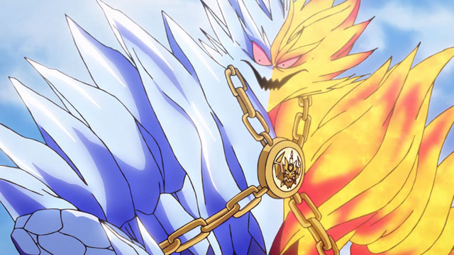 En el episodio 13 de Las Aventuras de Fly, El momento decisivo, vemos el final de Hyunckel y el inicio del arco de Flazzard