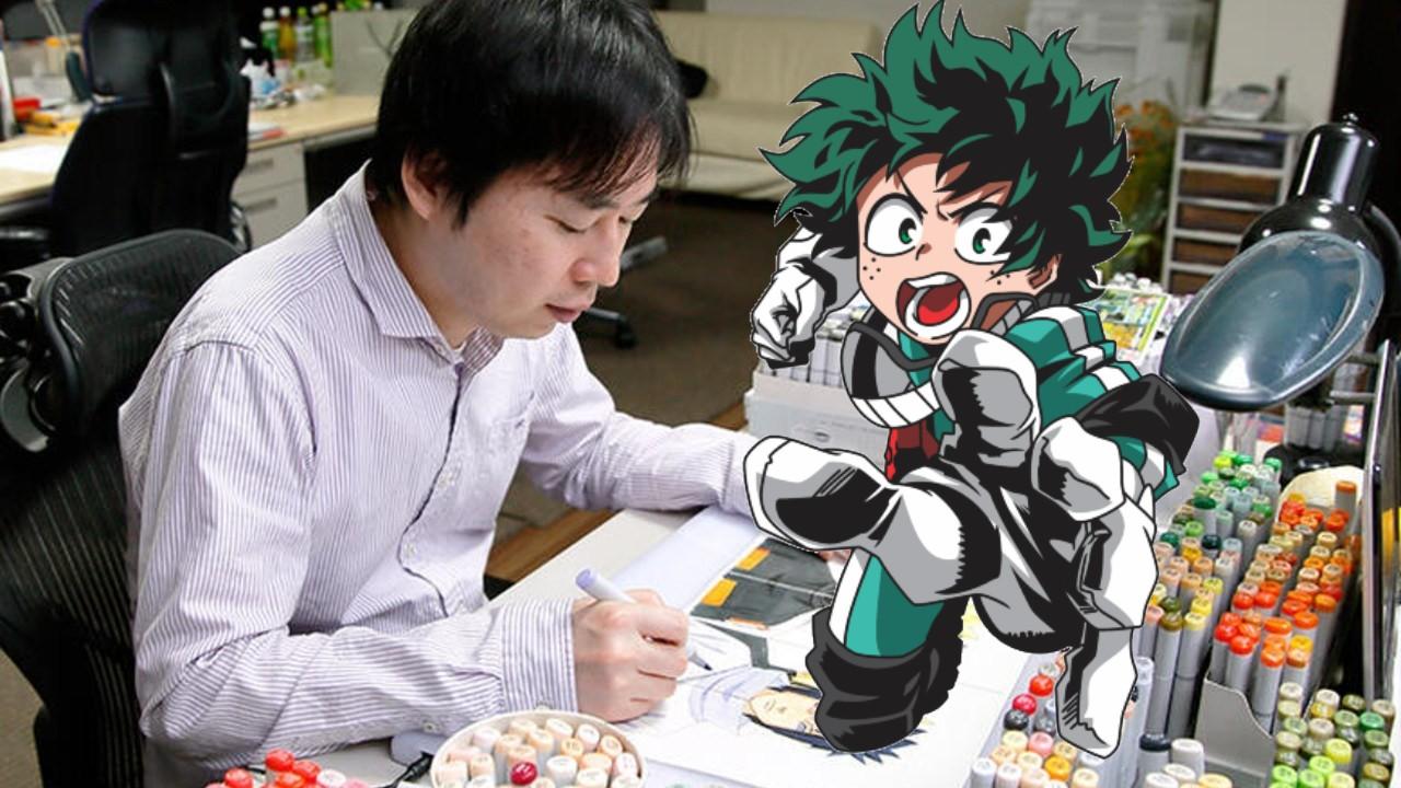 Masashi Kishimoto, autor de Naruto, dibuja a Izuku Midoriya de My Hero Academia