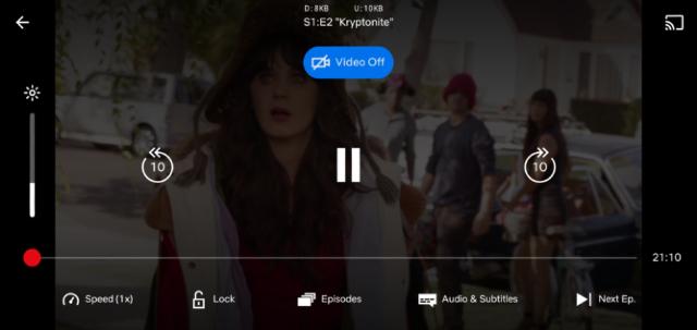 Netflix estrena modo de reproducción de audio