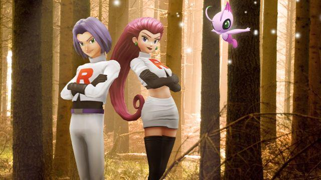Jessie y James vuelven a Pokémon GO