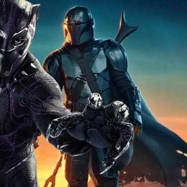 The Mandalorian y Black Panther