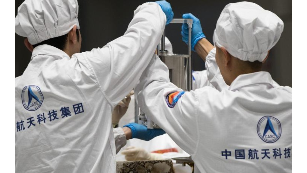 Regresan a China semillas de arroz que germinaron en la Luna a bordo de Chang'e 5 (1)