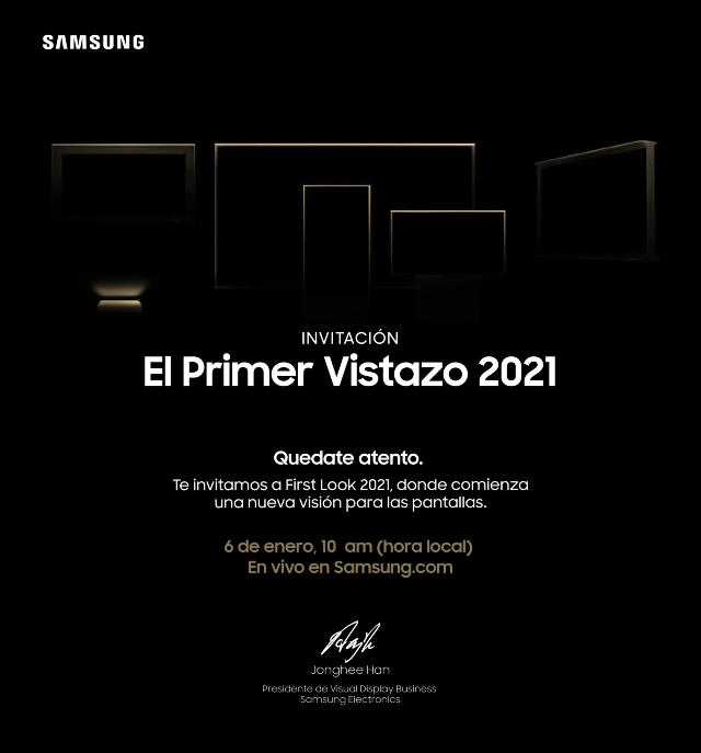 Samsung celebrará el The First Look 2021