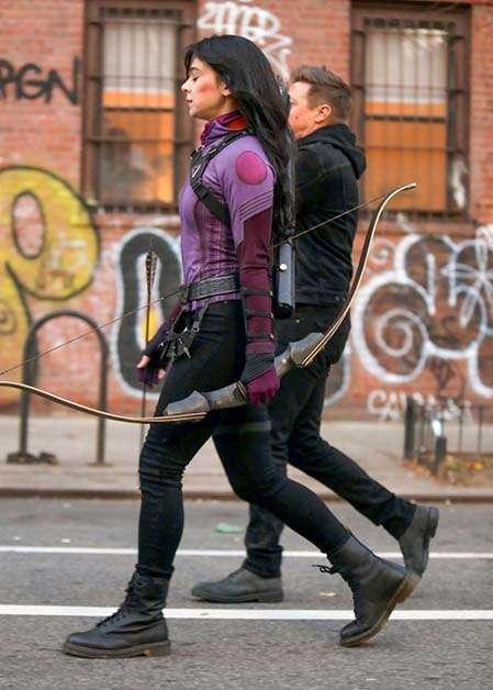 Kate Bishop y Hawkeye