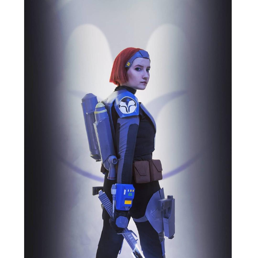 The Mandalorian: Chica recrea de manera asombrosa a Bo-Katan Kryze con este cosplay