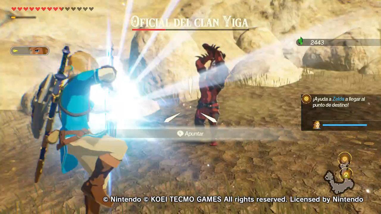 Hyrule Warriors Age of Calamity Nintendo