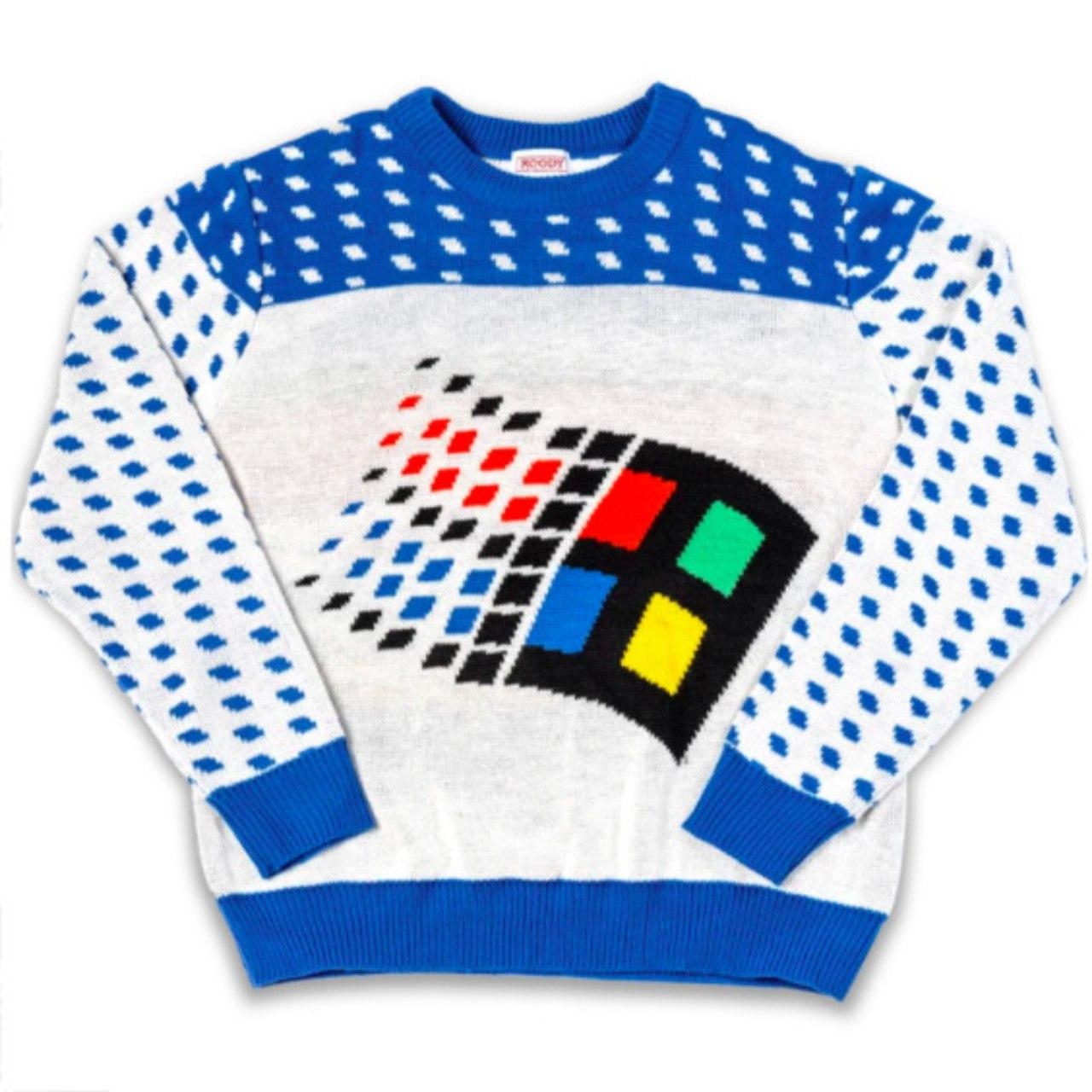 Microsoft Ugly Sweaters
