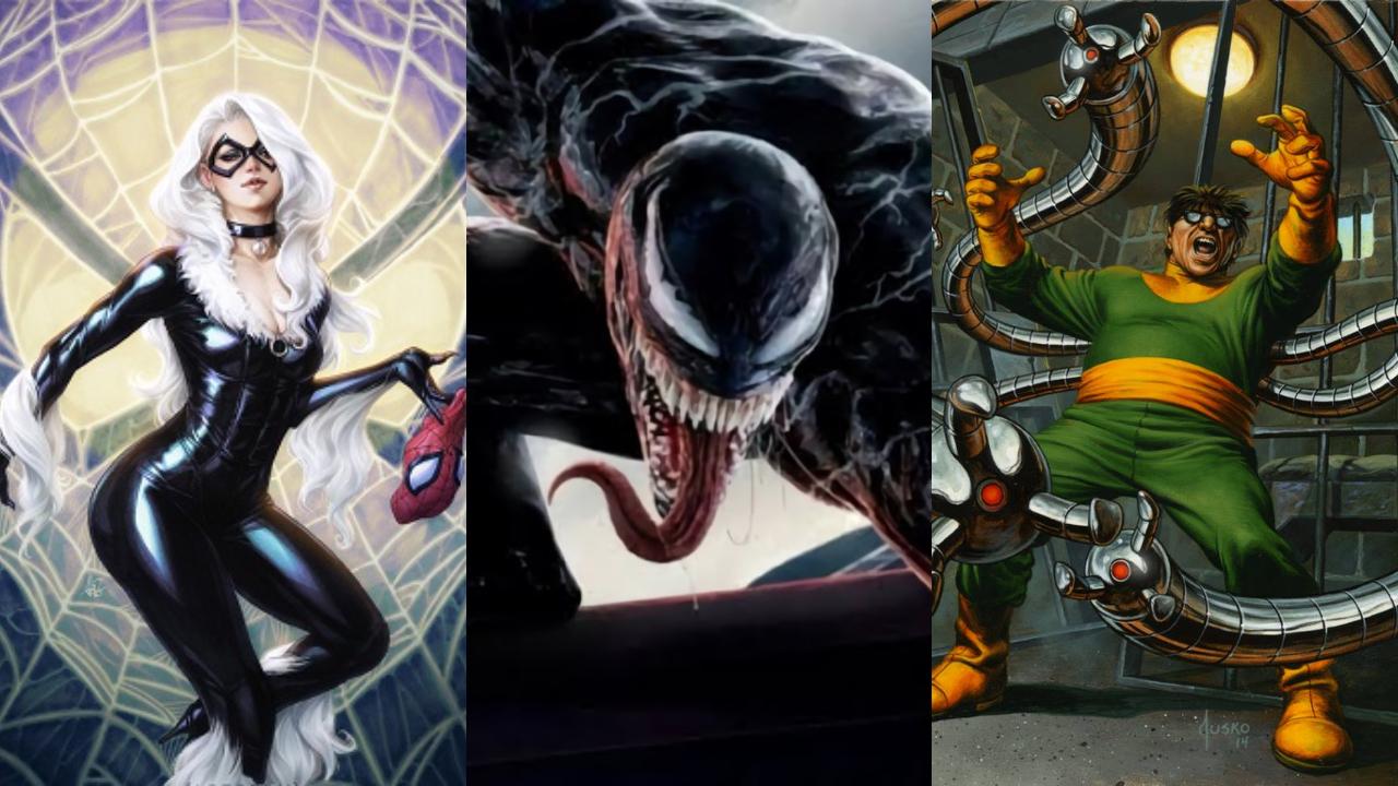 villanos de spider man