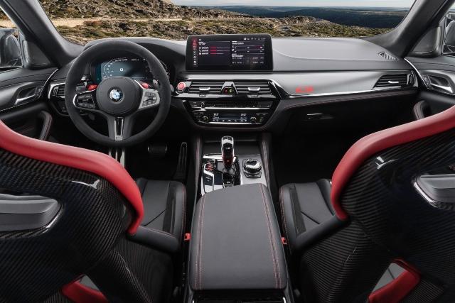 BMW presenta el M5 CS, el modelo más lujoso y potente de su categoría