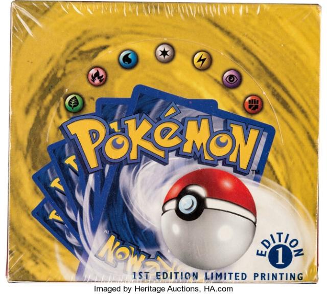 Caja de cartas de Pokémon rompe récord en subasta
