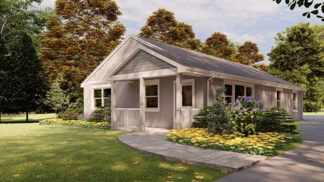 La casa impresa en 3D es más 50% más barata que una tradicional