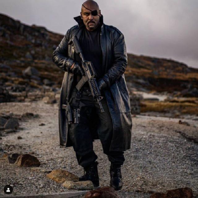 Nick Fury Versión Cosplay