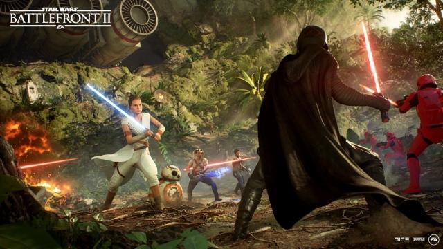 Star Wars Battlefront II llega gratis a Epic Games Store