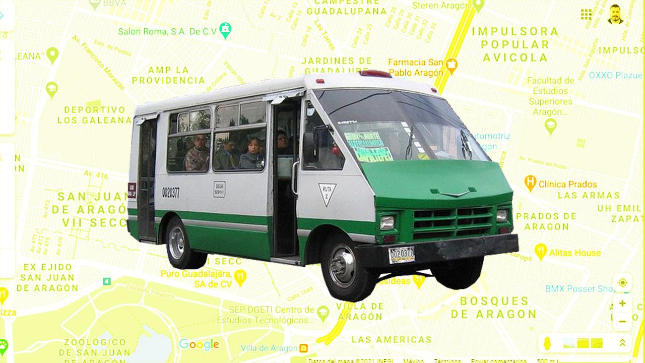 Google Maps Transporte Concesionado