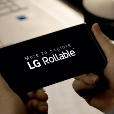 Teléfono enrollable de LG
