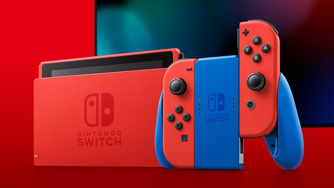 Nueva Nintendo Switch de Mario Bros.