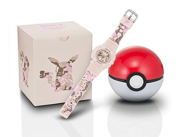 Pokémon y Casio lanzarán un reloj inspirado en Pikachu