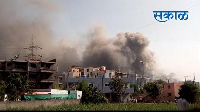 Incendio en Serum Institute of India