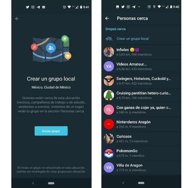 Telegram puede revelar tu ubicación exacta a cualquier persona.